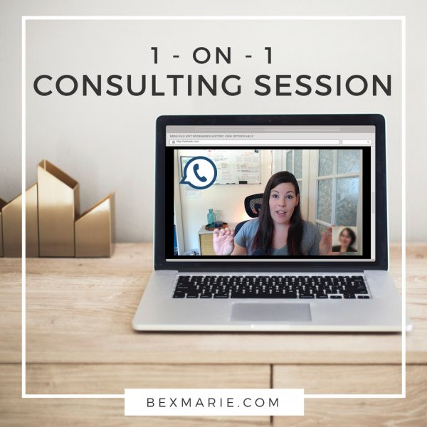 1 on 1 consulting session for handmade sellers