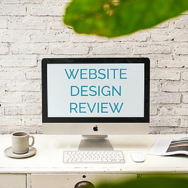comprehensive website design review consultation