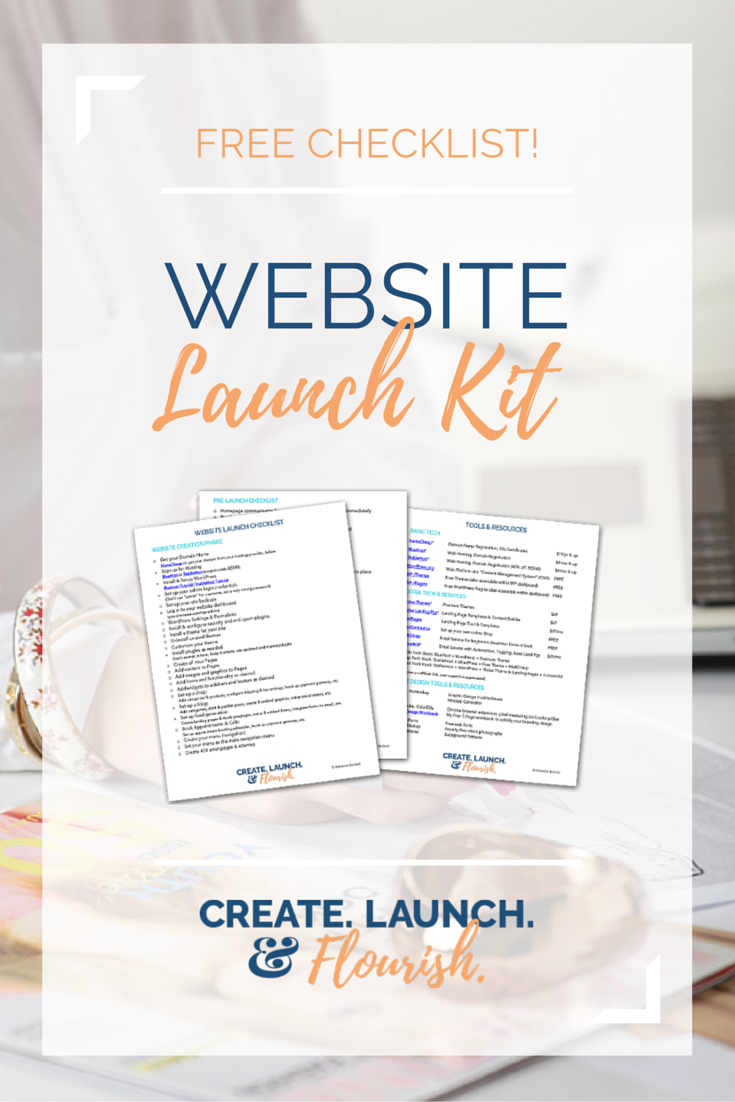 Website Launch Checklists