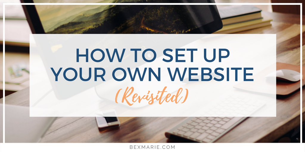 How to set up a WordPress website (revisited)