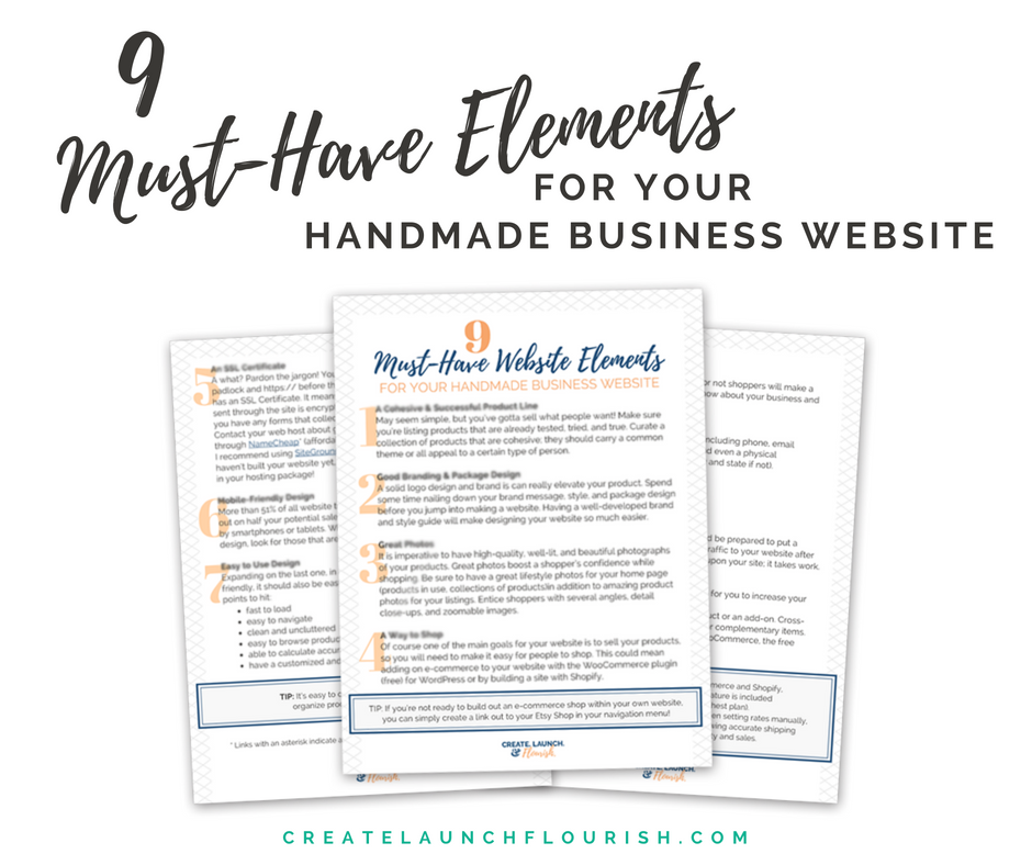 9 Must Have Website Elements