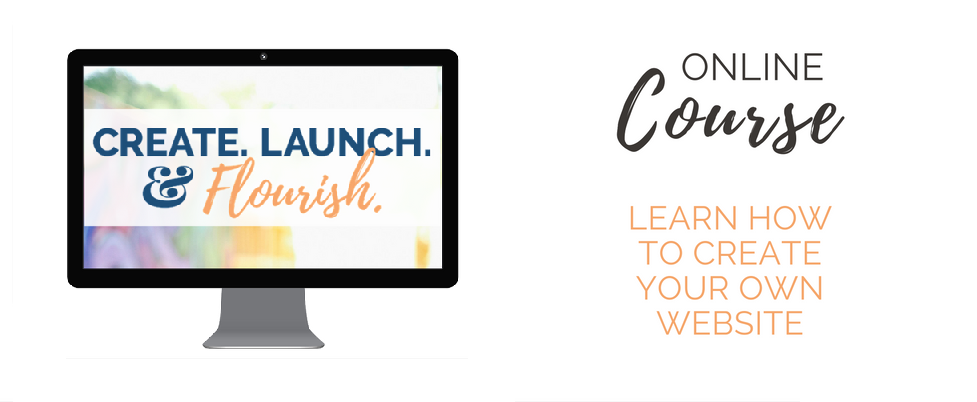 Create Launch & Flourish course