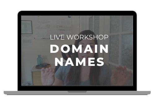 Workshop: Domain Names